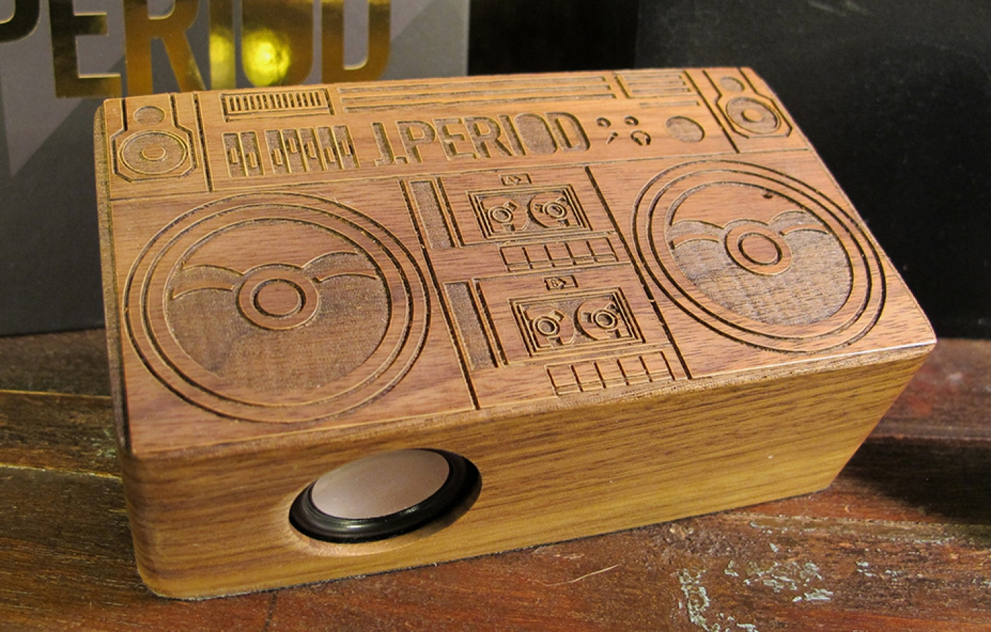 EXCLUSIVE J.PERIOD X GOODWOODNYC DUB BOX MOBILE SPEAKER