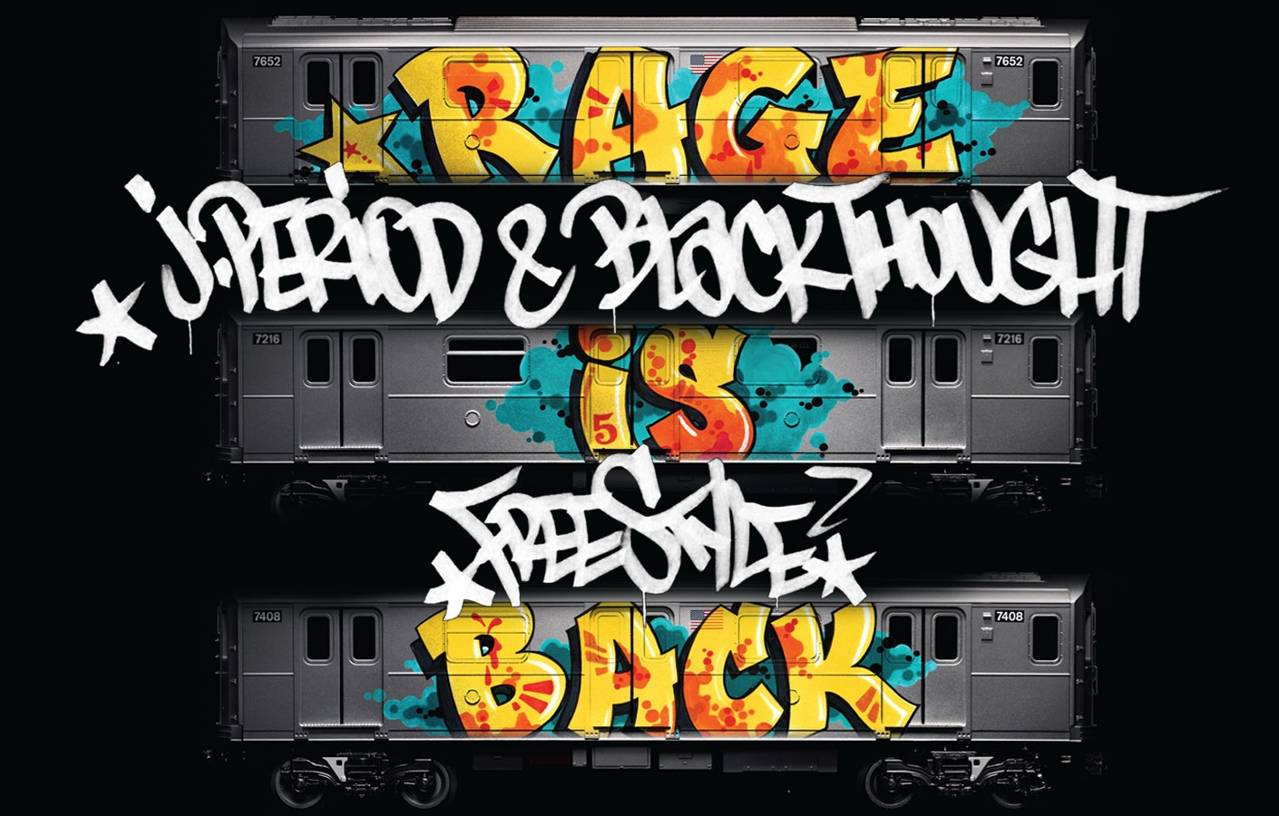 """RAGE IS BACK [J.PERIOD EXCLUSIVE]"" FEAT. BLACK THOUGHT"
