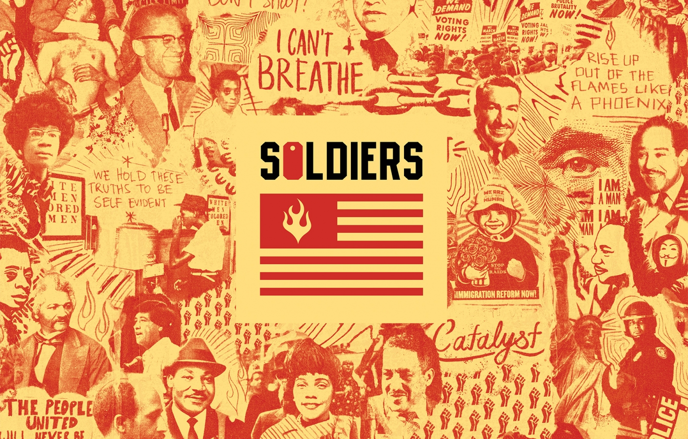 SOLDIERS feat. Dead Prez, Sa-Roc & Maimouna Youssef